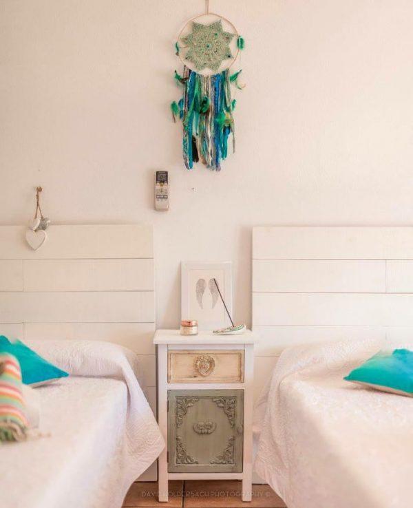 villa Ibiza bedroom